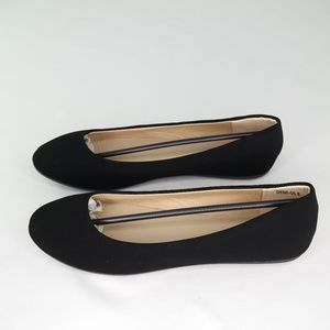 Guilty Shoes Demi-05 Ballet Flats Sz 8 Black